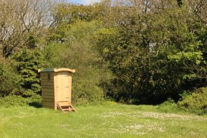 Don't knock it 'til you've tried it! Our lovely little compost loo