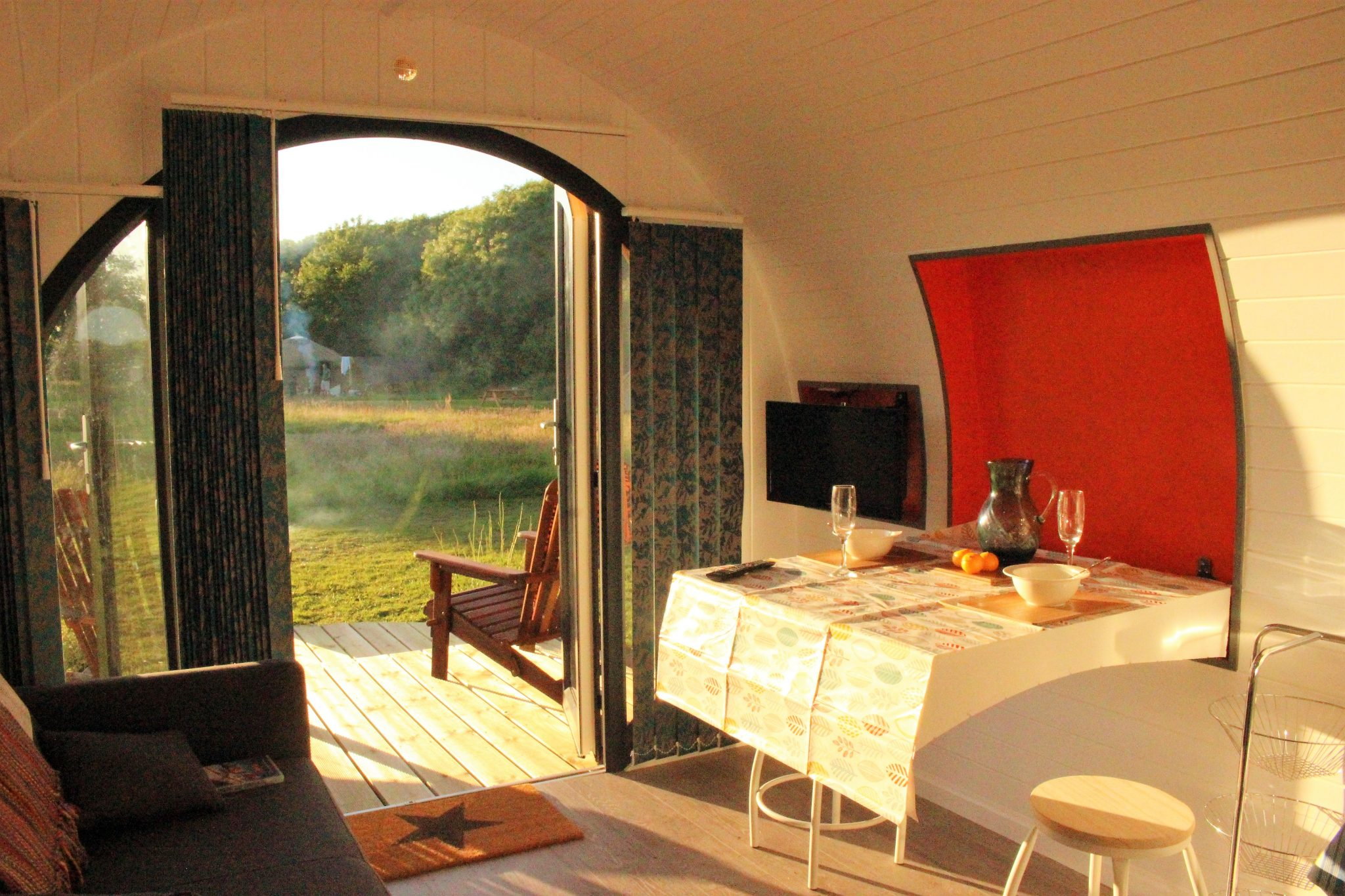 Luxury Glamping Pod ⋆ Stackpole Under the Stars