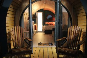Our Luxury Glamping Pod is perfect for up to four guests