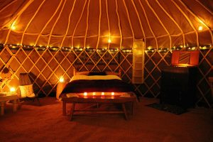 Camping and glamping in the Pembrokeshire Coast National Park