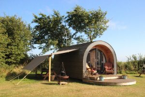 Experience outdoor cooking alongside your luxury glamping pod