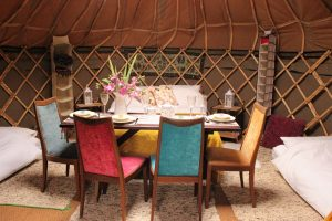 Try our yurts for the best of glamping in Pembrokeshire