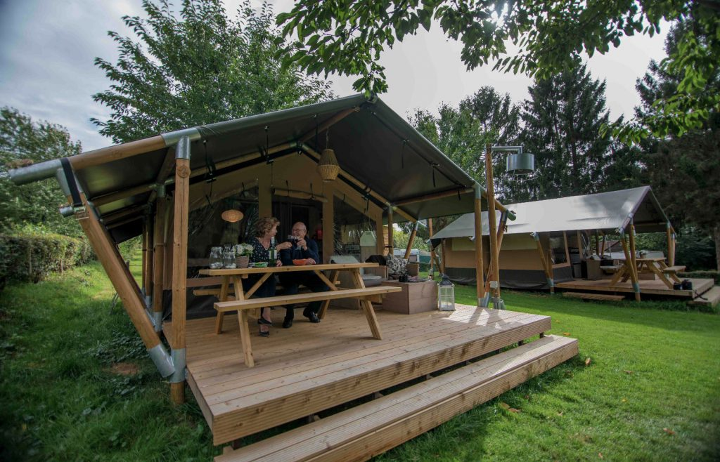 Our luxurious Safari Tents are new for 2020