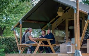 We look forward to welcoming our first Safari Tent glamping